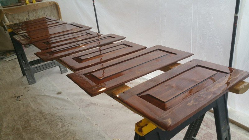 Cabinet Coatings and Restoration